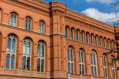 Czerwony Townhall obraz royalty free