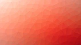 Czerwony Triangulated tło Zdjęcia Royalty Free