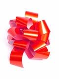 czerwony ukłon Obrazy Stock