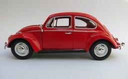 Czerwony Volkswagen Beetle Obrazy Royalty Free