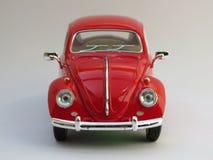 Czerwony Volkswagen Beetle Obraz Stock