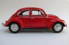 Czerwony Volkswagen Beetle Obraz Royalty Free