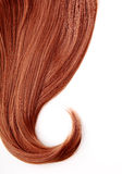 Czerwony włosy Zdjęcie Royalty Free