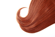 Czerwony włosy Zdjęcia Stock