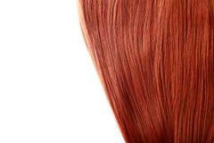 Czerwony włosy Fotografia Stock