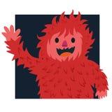 Czerwony włosy yeti Zdjęcie Royalty Free