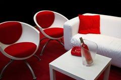 czerwony white Obrazy Stock