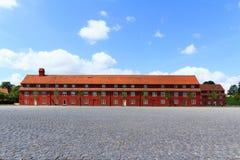 Czerwony więzienie Zdjęcia Royalty Free