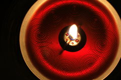 czerwony świece. Obraz Stock