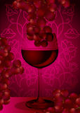 czerwony winograd Obraz Royalty Free