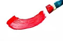 Czerwony wodny kolor Ilustracja Wektor