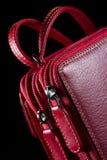 Czerwony woman& x27; s torba Zdjęcia Royalty Free