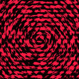 Czerwony wybuch ilustracja wektor