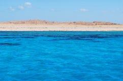 czerwony wyspy morze Fotografia Royalty Free