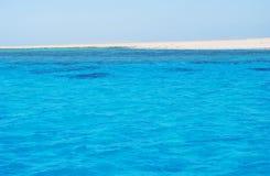 czerwony wyspy morze Zdjęcia Royalty Free