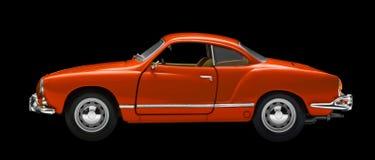 Czerwony wzorcowy samochód zdjęcie stock