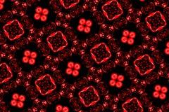 czerwony wzoru Zdjęcia Royalty Free