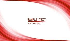Czerwony zaawansowany technicznie abstrakcjonistyczny tło Zdjęcia Stock