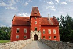 czerwony zamku Obrazy Royalty Free