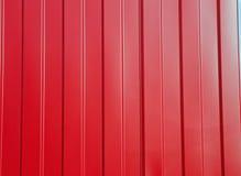Czerwony zbiornik tekstury tło Zdjęcie Stock