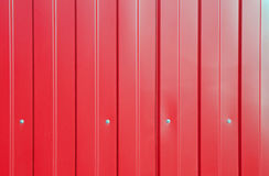 Czerwony zbiornik tekstury tło Obrazy Stock