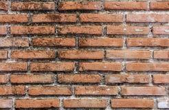Czerwonych cegieł ściany tło Zdjęcie Stock