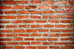 Czerwonych cegieł ściana Zdjęcia Royalty Free