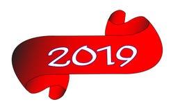 2019 Czerwonych ślimacznic Obraz Royalty Free