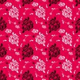 Czerwonych róż wzór Zdjęcia Royalty Free