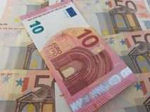 Czescy korunas banknotów Zdjęcia Stock