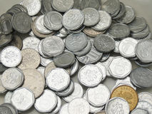 Czescy korunas monet Obraz Royalty Free