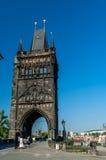 czeska Charles bridżowa republika Prague Obrazy Stock