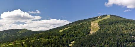 czeska krkonose medvedin republika zdjęcia stock