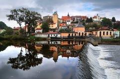 czeska loket panoramy republika Zdjęcie Stock