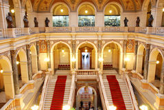 czeska sala muzealny krajowy Prague Obrazy Stock