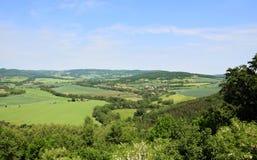 czeski krajobrazu zdjęcie royalty free