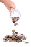 czeski pieniądze Zdjęcie Stock
