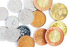 Czeski pieniądze fotografia royalty free