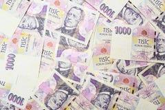 czeski pieniądze Zdjęcie Royalty Free