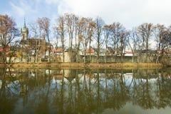 czeski policka republiki miasteczko Fotografia Royalty Free