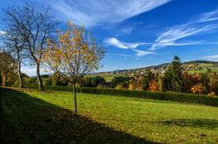 Czeski raju krajobraz Zdjęcia Stock