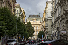 Czeski szkoła podstawowa budynek, Praga Fotografia Royalty Free