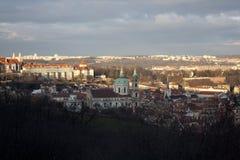 czeski wzgórza petrin Prague republiki widok Zdjęcie Royalty Free