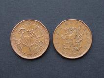10 Czeskich korunas monet Zdjęcia Royalty Free