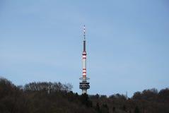 Czeskie środkowe góry - Bukova hora Zdjęcie Royalty Free