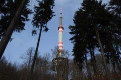 Czeskie środkowe góry - Bukova hora Zdjęcia Royalty Free