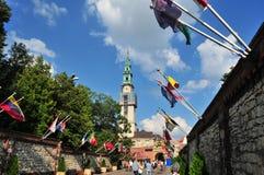 Czestochowa, Польша, июнь 2018 Святилище Jasna Gora, монастырь в Czestochowa, стоковая фотография
