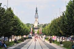 Czestochowa, Польша, июнь 2018 Святилище Jasna Gora, монастырь в Czestochowa, стоковые фотографии rf