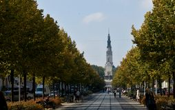 Переулок в Czestochowa Стоковое Фото