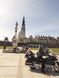 Czestochowa, POLAND April 12, 2015: Jasna Gora is the most famou Royalty Free Stock Photography